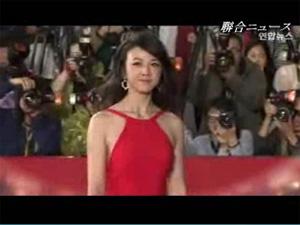 """""""二十歳""""釜山国際映画祭""""レッドカーペットの女神""""は?の画像"""