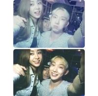 「2AM」チョ・グォン、G.NAと共に「Miss A」ミンの誕生日をお祝いの画像