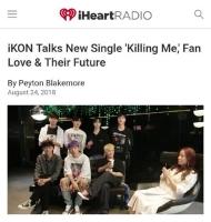 「ケンカをしない」「iKON」、米・ラジオでチームワークの秘訣明かすの画像