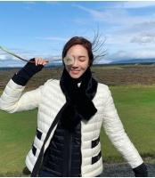 ジェシカ(元少女時代)、「風で飛んでいきそう」日常が写真集inアイスランドの画像