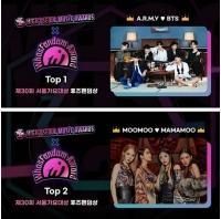 「BTS(防弾少年団)」、ソウル歌謡大賞「Whosfandom賞」受賞...2位は「MAMAMOO」の画像