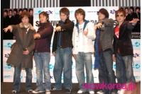 SHINHWA 日本コンサート大盛況の画像