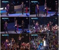 ア大会開幕式―「JYJ」、アジアを一つに!の画像