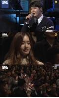 ユン・サンヒョン、番組でMayBeeにプロポーズソングを披露の画像