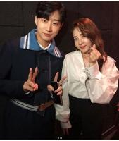 """DARA(元2NE1)&「B1A4」ジニョン、最高のビジュアルを披露…""""試写会で""""の画像"""