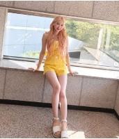 「OH MY GIRL」ジホ、最強の脚線美を披露の画像