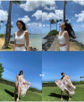 ジェニー (BLACKPINK)、ハワイの風の女神.. 「スタイルGood美貌Good Good」の画像