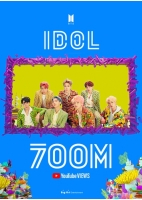 [韓流]BTS「IDOL」のMV 再生7億回突破の画像