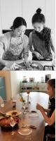 """伊藤ゆみ(アユミ/ICONIQ)、新婚チョン・ヘビンに料理を習う=""""レストランみたいにおいしい""""の画像"""