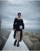 少女時代ティファニー、釜山の海沿いでモデルポーズ 非現実的なスタイルの画像