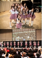 「PRODUCE 48」ファイナリスト20人、「AKB48」の握手会にサプライズ登場…日本ファンに初お披露目の画像