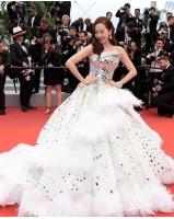 元「少女時代」ジェシカ、人生初「カンヌ映画祭」開幕式レッドカーペットに登場の画像