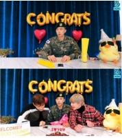 [韓流]2PMウヨンが除隊 新型コロナの影響で休暇後復帰せずの画像