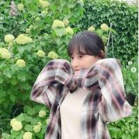 女優キム・ジウォン、花より美しい写真を公開…ラブリーの定石の画像