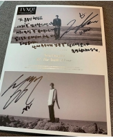 【トピック】ユン・ジョンシン、「東方神起」ユンホからもらったサイン入りアルバムを公開の画像