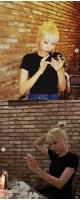 """""""43kg""""タレントのイ・セヨン、金髪でアイドル顔負け...日本人の彼氏もメロメロの美貌の画像"""