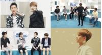 先輩「SHINHWA」が後輩「EXO」にバラエティ感を伝授!の画像