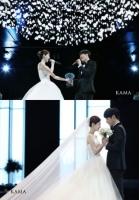 ユン・サンヒョン&Maybee、絵画のような夫婦…式の写真を公開の画像