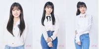 「IZONE」、アン・ユジン&矢吹奈子&チェ・イェナの公式プロフィール写真を公開!の画像
