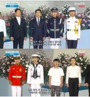 【トピック】「SHINee」キー&「BTOB」チャンソプ、第74周年光復節を迎え国歌斉唱の画像