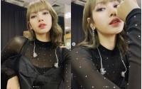 「BLACKPINK」LISA、魅惑的な美貌の自撮りで視線をくぎ付けにの画像