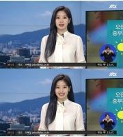「TWICE」ダヒョン、1日気象キャスターとしてニュース番組にサプライズ登場の画像