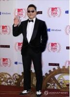 PSY、アジア人初の英国ミリオンセラー達成の画像