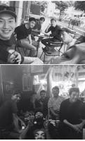 【トピック】キム・ウビン、チョ・インソン&イ・グァンス&D.O.(EXO)など親しい友人と共にいる空港での姿が話題にの画像