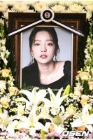 故ク・ハラ(元KARA)、きょう(27日)非公開で出棺の画像