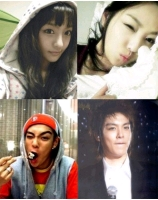 <BIG BANG>T.O.Pと実姉 目元がそっくり! の画像