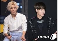 """テミン(SHINee)&KAI(EXO)、MBC「歌謡大祭典」で""""親友""""コラボステージ披露の画像"""