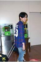 【空港レポ】ジュンス(JYJ)、FC MEN団長としてカラム(大国男児)らと羽田到着! 日ファン約500人が熱烈歓迎の画像
