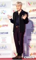 ジコ(Block B)、韓国音楽著作権協会からアーティスト賞で表彰されていたの画像