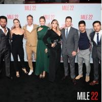 CL(元2NE1)、ハリウッドデビュー映画「MILE 22」の試写会で元気な姿を見せるの画像