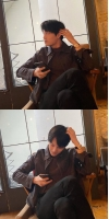 """KAI(EXO)、SNSにキム・ティモテオ(HOTSHOT)との""""ペディンズ""""友情デートを公開…「よく撮れてる? 」の画像"""
