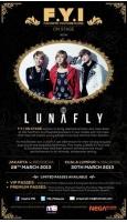 「LUNAFLY」、3月にインドネシアとマレーシアでショーケースの画像