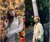 ヒョナ、イドン…お互いに撮った写真? 花の中輝く美貌爆発ビジュアルの画像