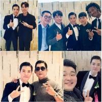 KangNam&イ・サンファ結婚式、キム・ヨナやユ・イニョンら豪華スター出席でまるで授賞式の画像