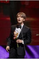 キム・ジェジュン(JYJ)、中国「アジア新曲チャート授賞式」で「海外人気歌手賞」を受賞の画像
