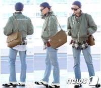 「BIGBANG」G-DRAGON、個性的なファッションで空港に登場の画像