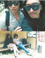 Rain(ピ)&<コヨーテ>ペッカ 日本旅行の写真が話題にの画像