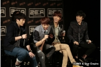 「ZE:A」限定ユニット「ZE:A 4U」ファンミーティングが大盛況!の画像