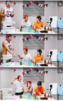 「2PM」ウヨン、のり巻き作り対決でニックンに勝利の画像