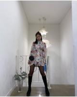 ジェニー(BLACKPINK)、花柄のワンピースもピッタリ…ラブリーな魅力の画像