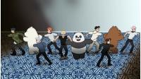 「ぼくらベアベアーズ」、「MONSTA X」登場エピソード カートゥーン ネットワーク 7月 日本初放送! メッセージ動画も公開!の画像