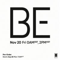 「BTS(防弾少年団)」、ニューアルバム「BE」11月20日リリース決定の画像