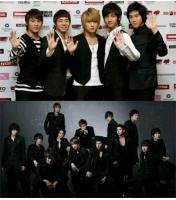 東方神起&Super Junior タイのVチャートで2年連続トップ席巻! の画像