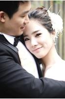 元「KARA」キム・ソンヒ 結婚写真を公開の画像