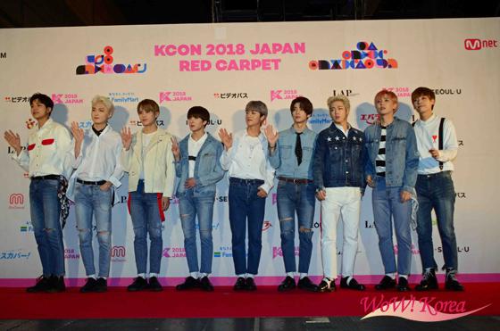 「KCON 2018 JAPAN」最終日レッドカーペットの画像