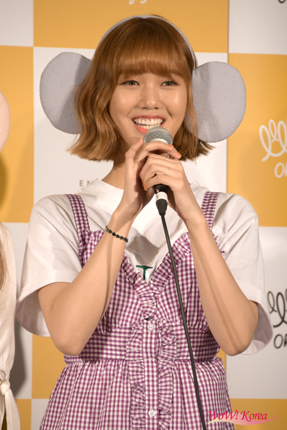 「OH MY GIRL BANHANA」、日本デビュー記者会見の画像